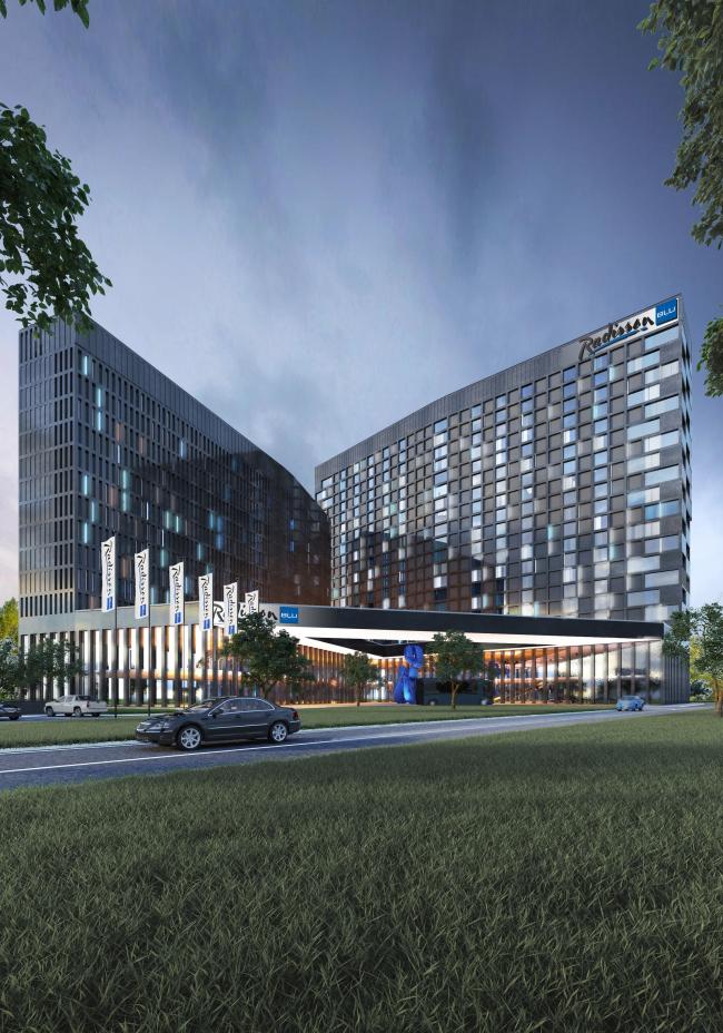 Отель Radisson Blu © АБ «А-ГА»