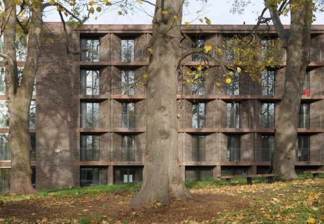 Общежитие Чэдвик-холл университета Рохемптона в Лондоне © David Grandorge