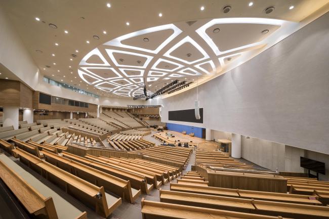 Христианский центр Bujeon Glocal Vision Center – B.G.V.C. © Joonhwan Yoon