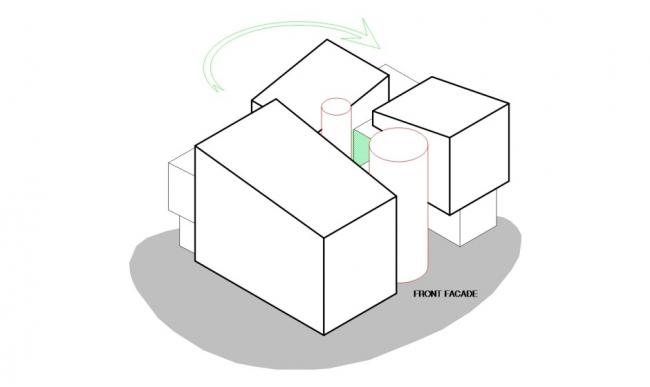 Объемное решение © HCF and Associates