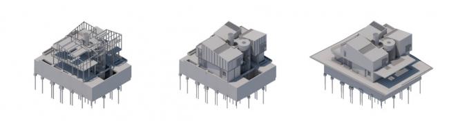 Гибкость BIM-модели упрощает получение информации. Все ракурсы были созданы одним щелчком мыши © HCF and Associates, Render: ARCHICAD and CineRender