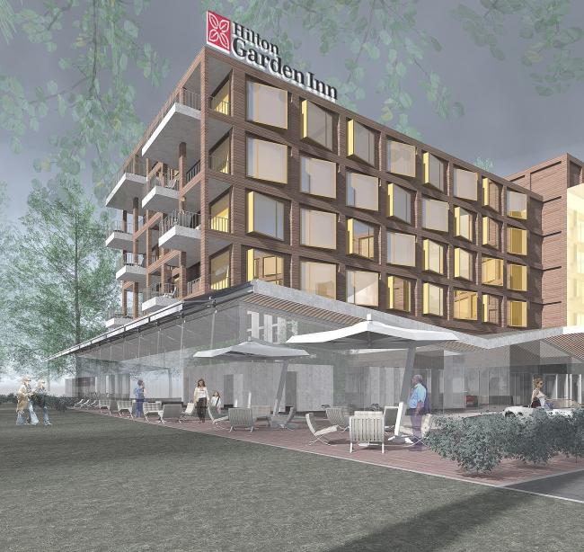 Отель Hilton Garden Inn © АБ «А-ГА»