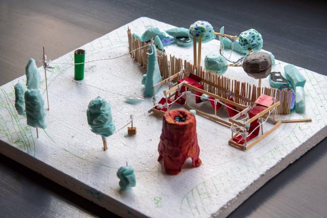 Концепция учеников студии Arch4Kids для общественного центра ЖК «Республика» © Arch4Kids. Изображение предоставлено компанией Архиматика