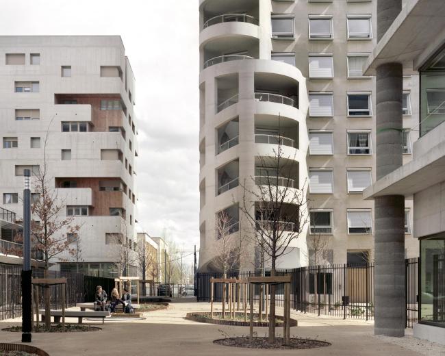 Квартал А3 в районе Конфлюанс © Maxime Delvaux