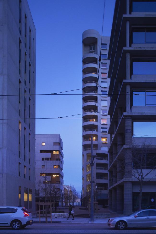 Квартал А3 в районе Конфлюанс © Julien Lanoo