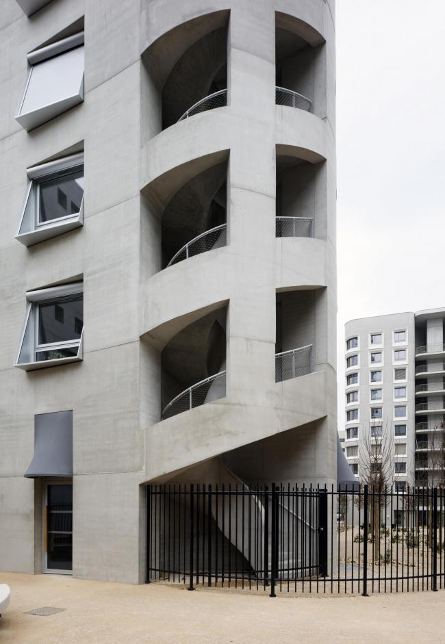 Квартал А3 в районе Конфлюанс © George Dupin