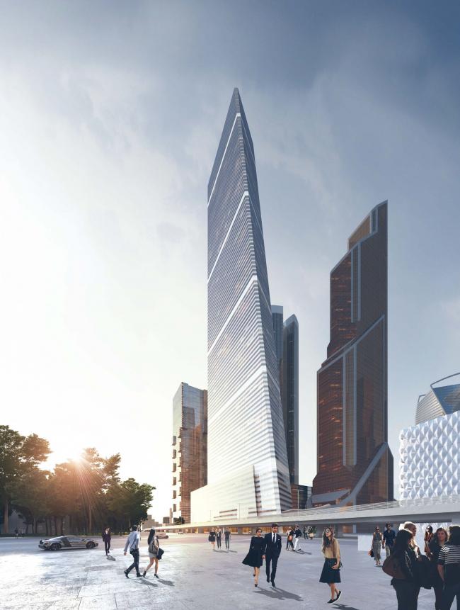 Многофункциональный высотный жилой комплекс в ММДЦ «Москва Сити» © Сергей Скуратов ARCHITECTS