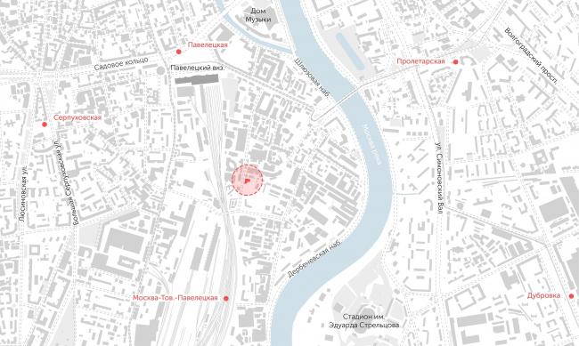 Location plan © APEX project bureau