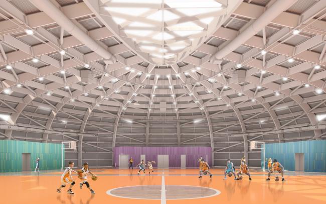 Образовательный центр для одаренных детей «Сириус». Корпус «Спорт» © Студия 44