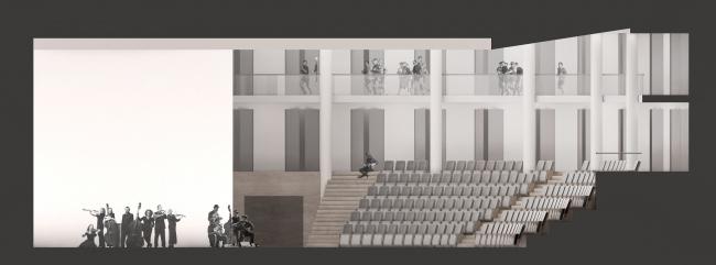 Образовательный центр для одаренных детей «Сириус». Корпус «Искусство» © Студия 44