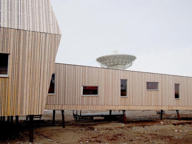 Геодезическая обсерватория в Новом Олесунне. Фото: Elisa Grinland