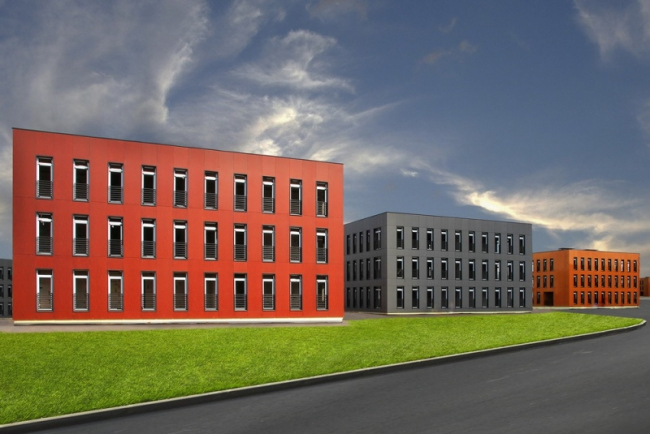 Многоквартирные дома в поселке «Западная долина» © Архитектурная лаборатория Polygon. Изображение предоставлено RDI, http://zdolina.ru/