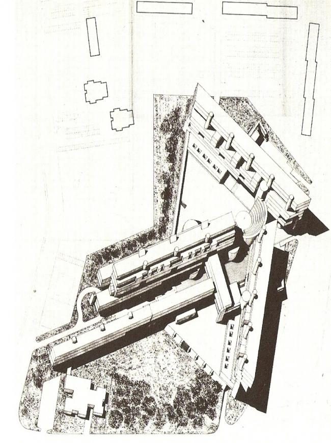 Комплекс «Монте Амиата». Изображение с сайта www.urbanistica.unipr.it