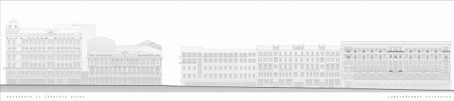 Регенерация и реставрация Елисеевского магазина © Архитектурная мастерская Сергея Ткаченко