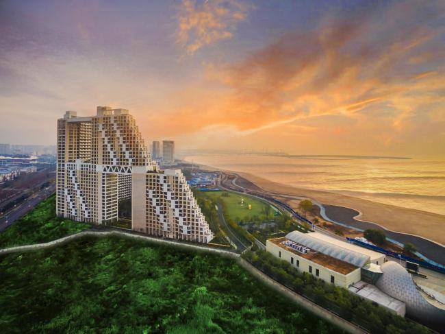 Жилой комплекс Habitat Golden Dream Bay. Фото: Kerry Properties