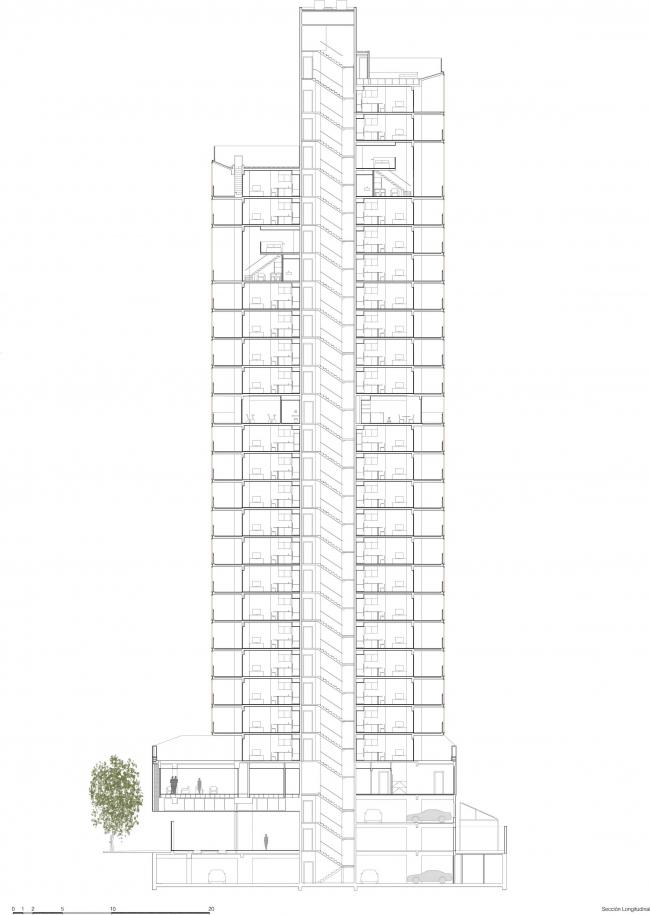 Башня Forma Itaim © b720 Fermín Vázquez Arquitectos
