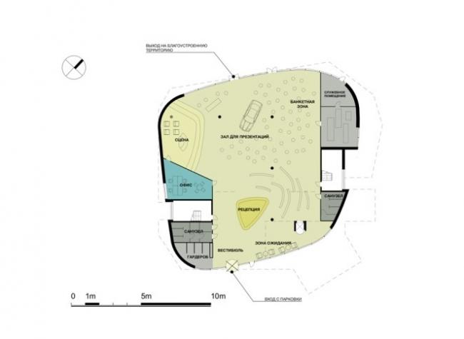 Офис продаж жилого комплекса на ТТК © PANACOM