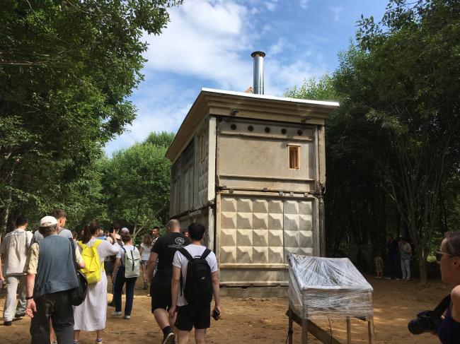 Вилла ПО-2. Готовый дом на «Архстояние 2018». Фотография Архи.ру