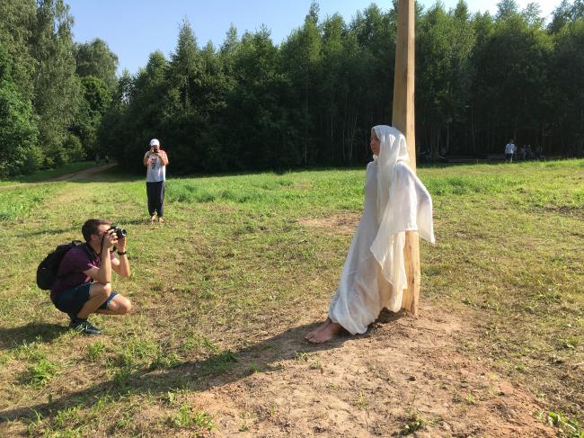 «Солнечный перформанс».  Автор: Анастасия БеловаАрхстояние 2018. Фотография Архи.ру