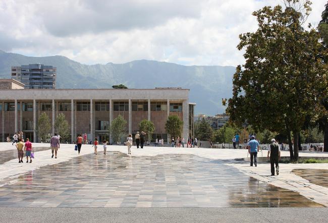 Площадь Скандербега – реконструкция © Filip Dujardin