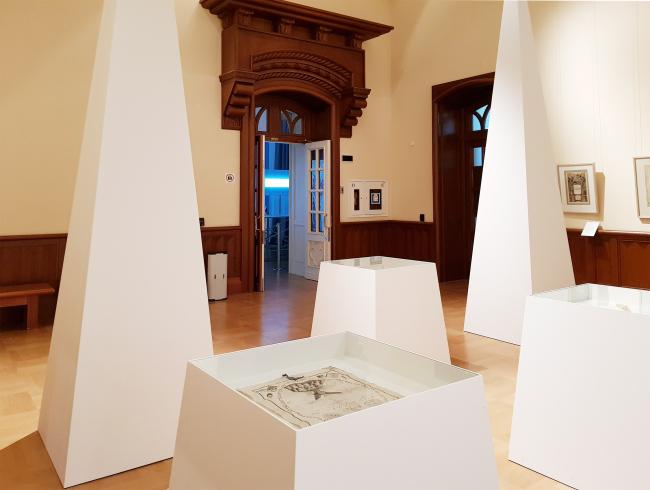Зал «Масонский храм». Выставка «Гипноз пространства», Царицыно. Фотография: Ю.Тарабарина, Архи.ру