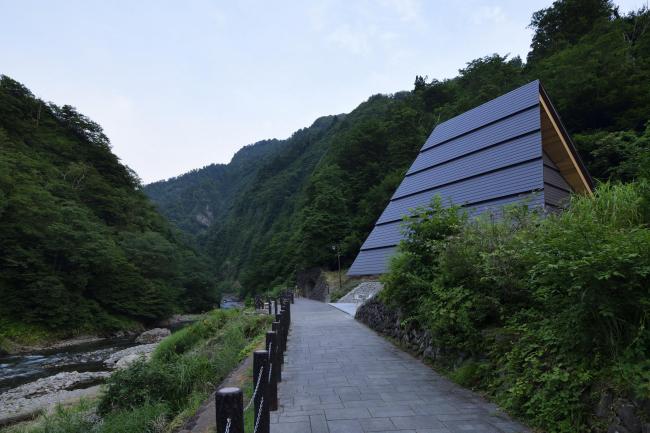 Тоннель у ущелья Киёцу – реконструкция © Nacasa & Partners Inc.