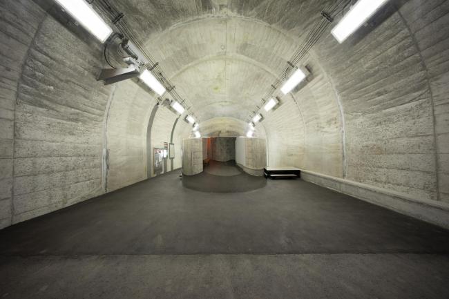 Тоннель у ущелья Киёцу – реконструкция. «Невидимый пузырь». © Nacasa & Partners Inc.