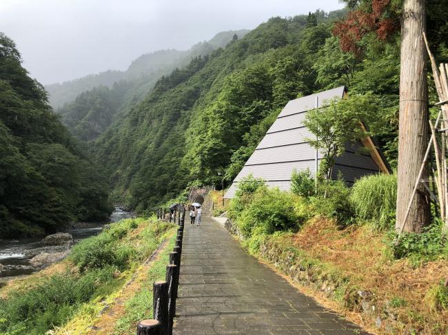 Тоннель у ущелья Киёцу – реконструкция. Предоставлено MAD
