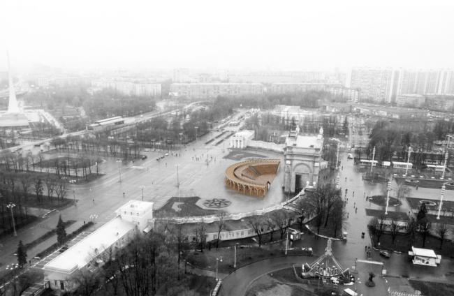 Амфитеатр на ВДНХ © PANACOM