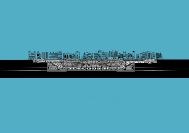 Станции линии метро «Север – Юг». Станция «Рокин» © Benthem Crouwel Architekten
