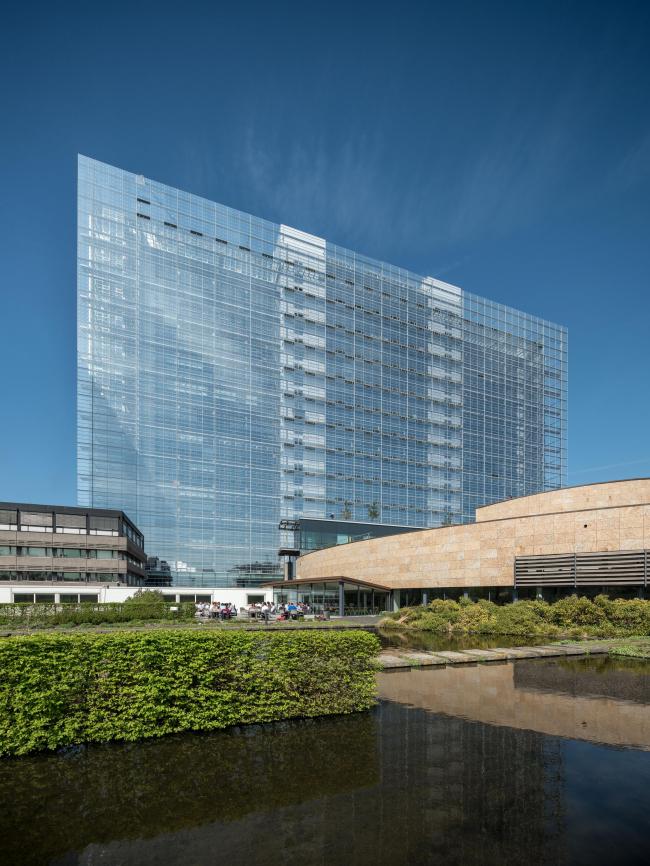Главное здание Европейского патентного ведомства. Фото: Ossip van Duivenbode © European Patent Office