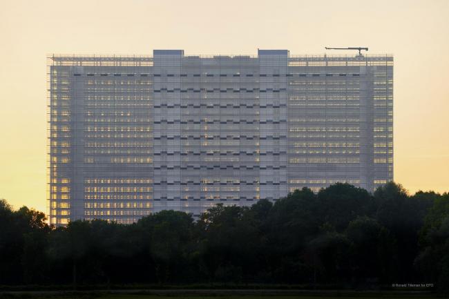 Главное здание Европейского патентного ведомства. Фото © Ronald Tilleman для European Patent Office