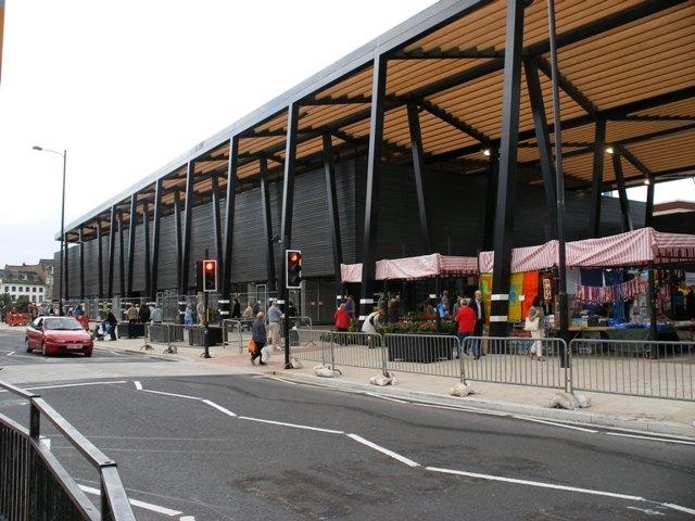 Рынок в Уэйкфилде по проекту Дэвида Аджайе. Фото: SMJ / Market Hall / CC BY-SA 2.0
