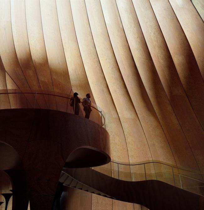 Конференц-центр Китайского предпринимательского форума. Изображение © MIR