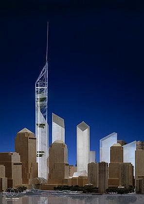 Комплекс нового Всемирного торгового центра в Нью-Йорке
