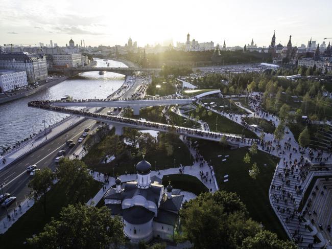 Парк «Зарядье». Изображение предоставлено ROCKWOOL