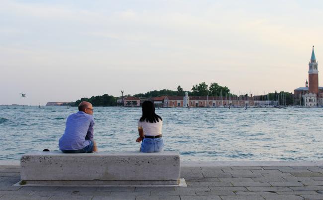 Набережная лагуны, Венеция. Фотография Архи.ру