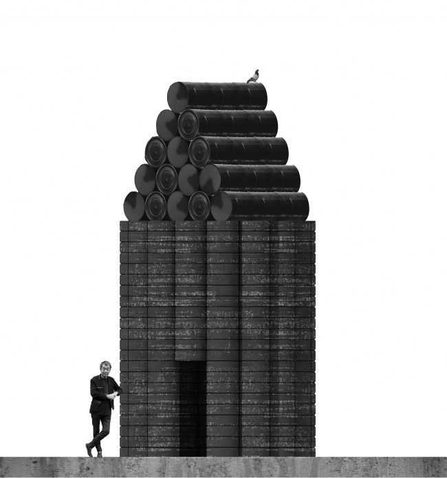 Архитектурная композиция Recycle Chapel © Архатака