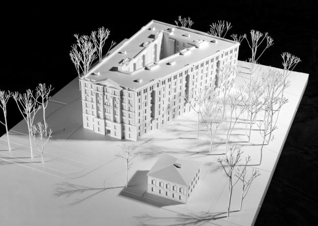Жилой дом «Верона». 2014. Фото макета © «Евгений Герасимов и партнеры»