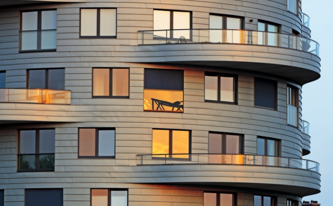 Жилое здание в г. Утрехт, Нидерланды © RHEINZINK