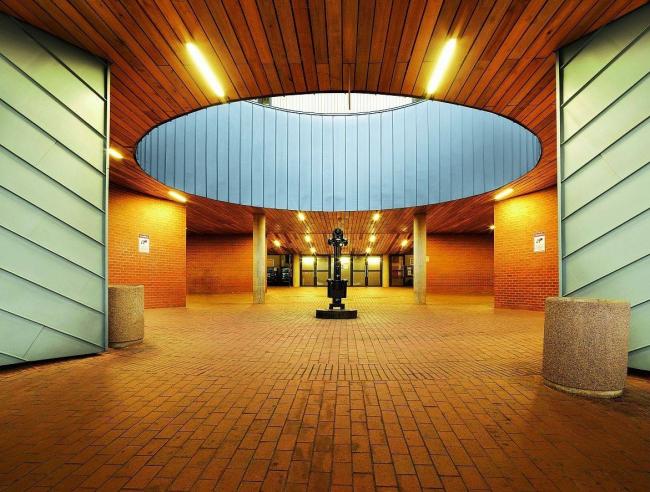 Новый корпус Йоханнесбургского Университета © RHEINZINK