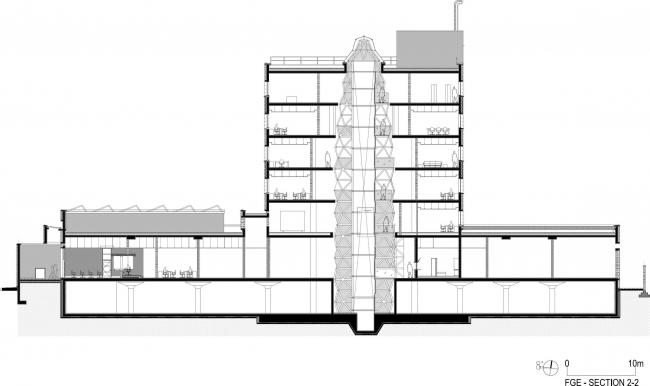 Посольство Германии и Франции в Бангладеш © Stephane Paumier Architects