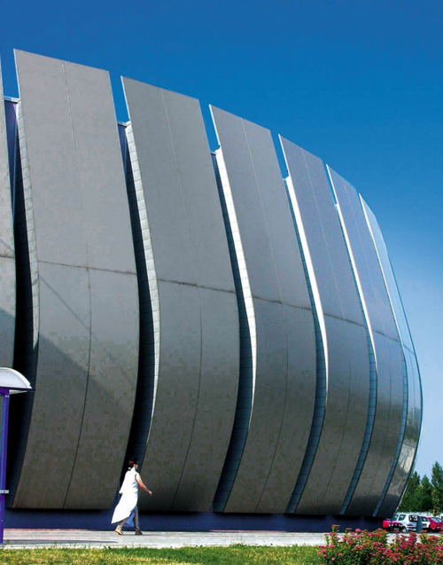 Торговый центр сети Carrefour в Кракове, Lipski, Gilewicz, Lisowski; L.G. Asymetria Sp. Z o.o. Изображение предоставлено 3A Composites