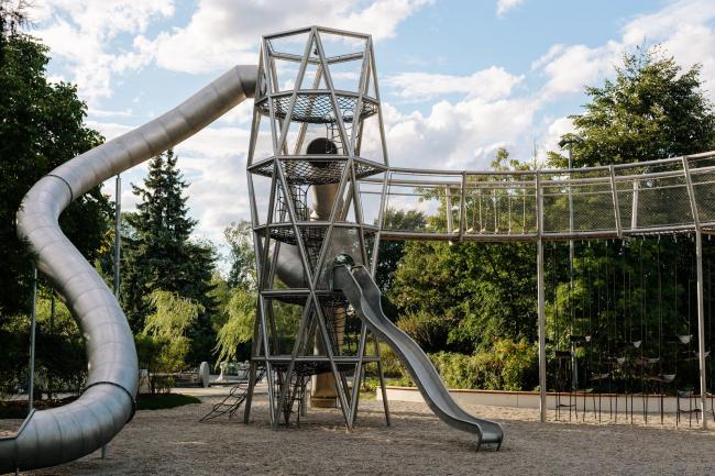 Площадка «Салют» в парке Горького © Музей «Гараж»