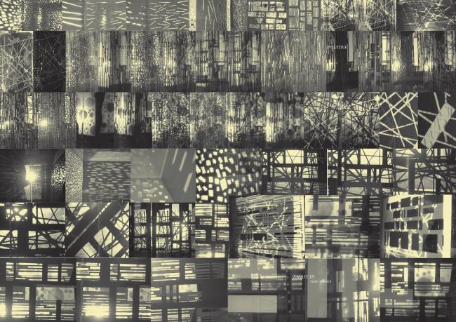 Mark Safronov. Intuitive field. Illustration of the research work done at EDAS school of Vladislav Kirpichev © Mark Safronov