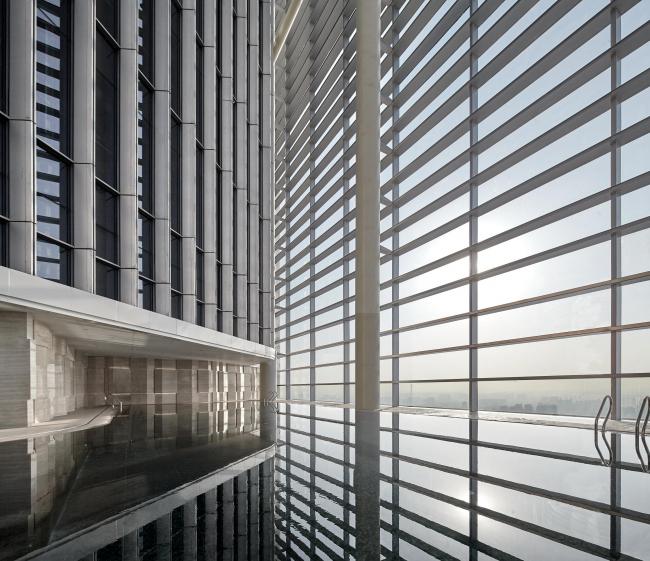 Башни Zhengzhou Greenland Central Plaza © Zeng Jianghe