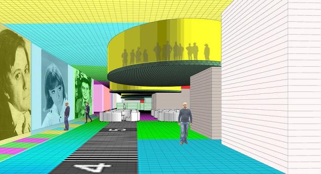 Проект комплексной реконструкции ТТЦ «Останкино» © АБ «А-ГА»