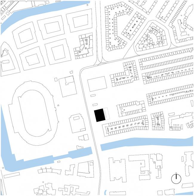 Комплекс Zuidblok © Kollhoff & Pols architecten