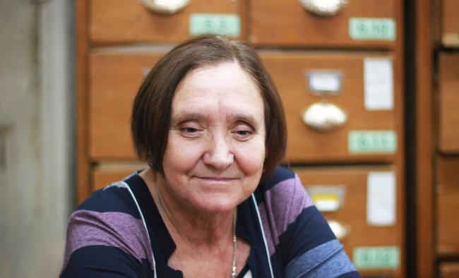 Мария Рогозина, 1947-2018 / фотография предоставлена ГНИМА