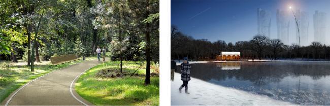 Парк Ходынка © Проектус